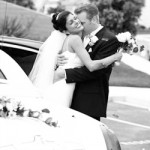 bride-groom-limousine